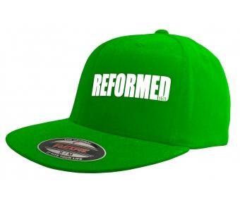 Flexfit Flatpeak Cap fern green