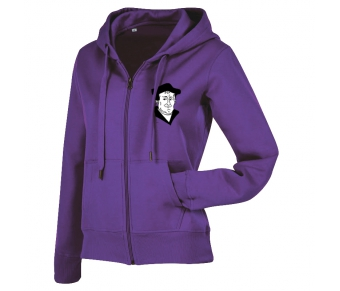 Active Sweatjacket Women deep berry