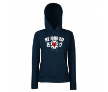 Lady-Fit Classic Hooded deep navy