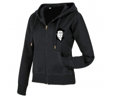 Active Sweatjacket Women black opal