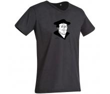 T-Shirt mit V-Ausschnitt Luther