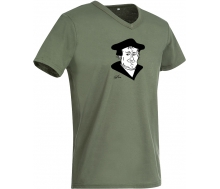 T-Shirt Luther military green