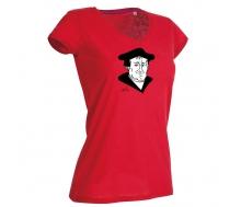 Damen T-Shirt mit V-Ausschnitt Luther